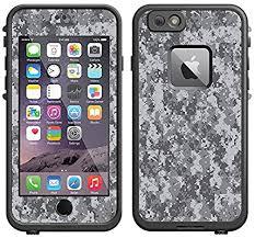 Amazon Com Skin Decal For Lifeproof Apple Iphone 6 Case Digital Camo Grey