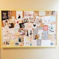 cork board ideas to decorate an office