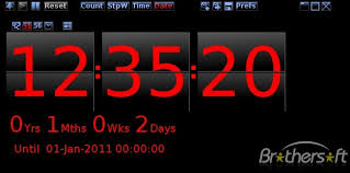 49 wallpaper countdown clock free on