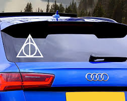 Harry Potter Car Decal Etsy
