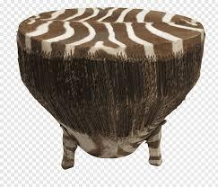 zebra table coffee tables drum