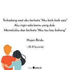 terkadang saat aku berkat quotes writings by efi r suwandy
