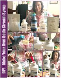 diy make your own soda stream syrup