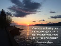 rabindranath tagore sunsets quotes poetry sunset sky sunset