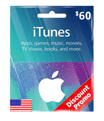 usd60 itunes gift card us email