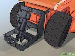 build a garden tractor snowplow