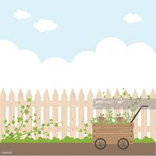 Garden Fence Background High Res Vector Graphic Getty Images