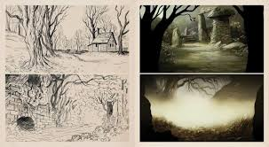 the art of over the garden wall will