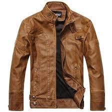 stylish leather jacket for men clk