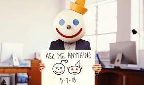 Reddit Q&A with Jack in the Box mascot's gets deeply weird - CNET