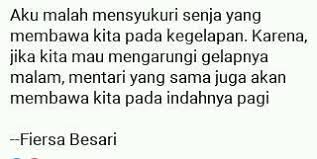 fiersa besari quotes home facebook