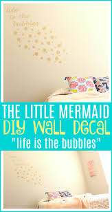 Life Is The Bubbles Wall Decal Diy For Mermaid Room Raising Whasians