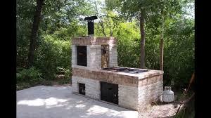 building a brick bbq smoker you