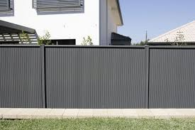 Painting Old Corrugated Iron Fencing Metal Fence Panels Fence Design Corrugated Metal Fence