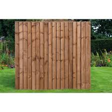6ft X 5ft 6 Standard Feather Edge Fence Panel Worcester Timber Products