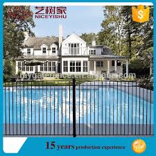 Niceyishu Used Wrought Iron Fencing For Sale Fence Post Pool Fence View Used Wrought Iron Fencing For Sale Yishujia Product Details From Shijiazhuang Yishu Metal Products Co Ltd On Alibaba Com