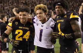 It's all love': UW's Byron Murphy and ASU's N'Keal Harry prepping ...