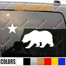 California Star And Bear Flag Of Cali Us Car Truck Decal Sticker Vinyl Die Cut You Choose Your Color And Size Sticker Vinyl Sticker Flagflag Vinyl Aliexpress