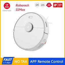 Hàng Mới Về Roborock S5 Max Robot Máy Hút Bụi Xiaomi Mijia S5max Không Dây  Cho Gia Đình Bản Nâng Cấp Của S50 S55 Thu sợi Lông Thú Nuôi|