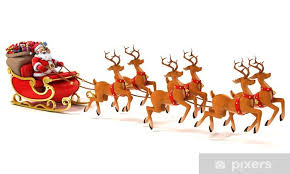 Bilderesultater for julenisse slede