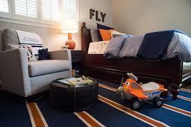 Navy And Orange Airplane Bedroom House Of Harper