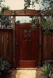 50 fascinating wooden garden gates