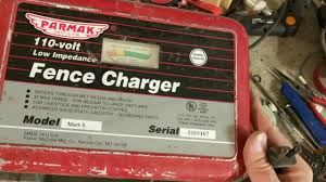 Electric Fence Charger Repair Parmak Mark 5 Youtube