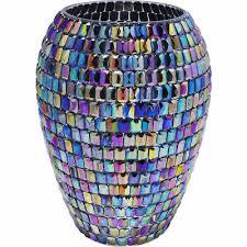 art glass rainbow iridescent freeform