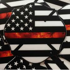thin red line maltese cross american