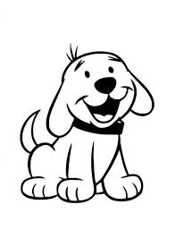 Dog Coloring Pages For Kids Preschool And Kindergarten Dieren
