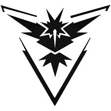 Pokemon Go Team Instinct Logo Symbol For Decal