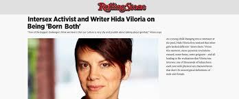 hida viloria – Intersex Campaign for Equality