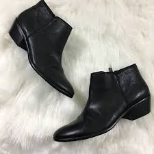 sam edelman shoes black leather petty