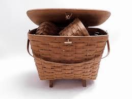 longaber basket w 4 smaller baskets