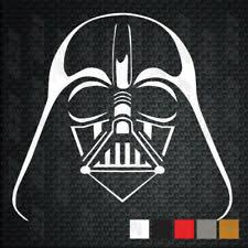 Star Wars Darth Vader Passenger Series Perforated Pvc Window Decal For Sale Online Ebay