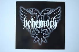 Behemoth Sticker Decal 394 Black Metal Gorgoroth Veno
