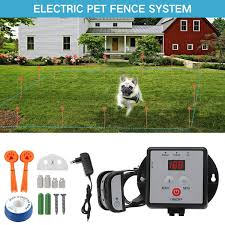 New Underground Electric Dog Fence Waterproof Rechargeable Pet Dog Training Collar Tpu Reflective Strap Electronic Shock Collar Wish