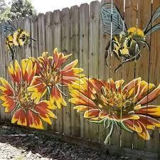 Diy Home Decorating Fence Art Via Https Www Instagram Com P Bif0tvclvk3 Facebook