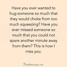 i miss you quotes for her him missing someone sayings the
