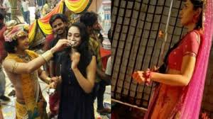 Radha Krishna Serial Actor's Full Offscreen Masti || Radhakrishna Serial Preeti  Verma Birthday party - YouTube