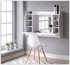 wall mounted dressing table white
