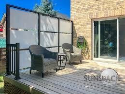 Sunspace Sunrooms Sunwall Privacy Screen And Windbreak