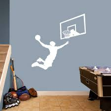 Shop Basketball Slam Dunk Set Large Wall Decals Overstock 11367243