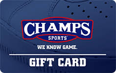 chs sports gift cards at a