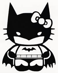 Hello Kitty Batman Decal Clip Art Library