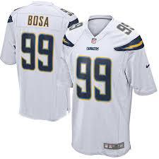 Joey Bosa Nike White Game Jersey