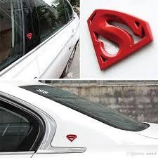 Buy Dy 3d Chrome Superman Car Emblem Badge Decal Sticker Online Get 30 Off