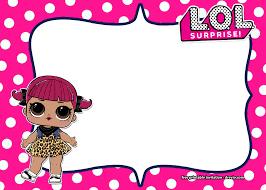 Free Lol Surprise Invitation Templates Printable Online Invitacion Cumpleanos Nino Etiquetas Escolares Para Imprimir Etiquetas Baby Shower
