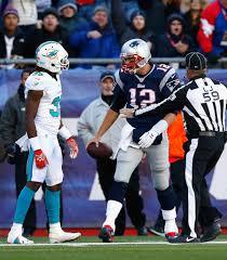 Tom Brady, Walt Aikens - Walt Aikens Photos - Miami Dolphins v New England  Patriots - Zimbio