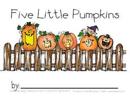 Five Little Pumpkins Coloring And Handwriting Book By Khindra S Kreations